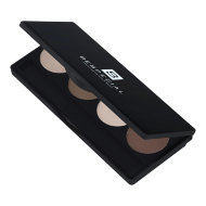 Палетка теней для бровей BeSpecial «POWDER PICK» Eye-Brow Shadow, 4 цвета (тёплая гамма)